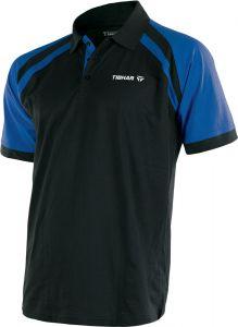 Tibhar Shirt World Poly Black/Blue