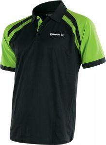 Tibhar Shirt World Poly Black/Lime