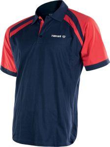 Tibhar Shirt World Poly Navy/Red