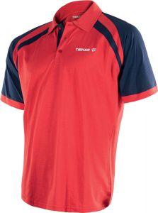 Tibhar Shirt World Poly Red/Navy