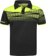 Donic Shirt ClashFlex Black/Fluo Yellow