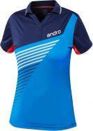 Andro Shirt Harris Women Blue/Dark Blue