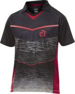 Andro Shirt Minto Black/Red